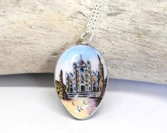 venice necklace, italy necklace, piazza San Marco necklace,  vintage necklace