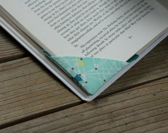 2 corner bookmarks - Triangles