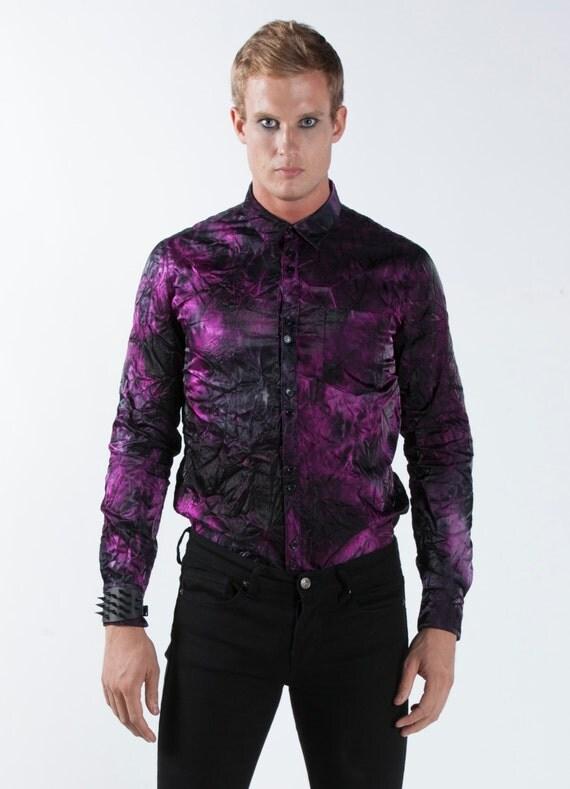Black and purple victorian dress