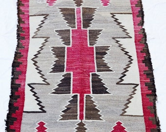 Rare Antique Navajo Rug