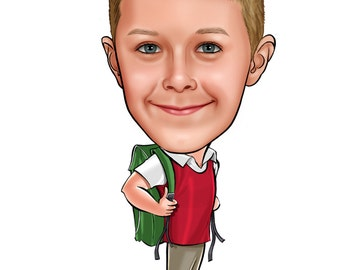 Custom caricature from your photos