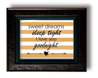 Sweet dreams I love you-Gold