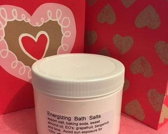 Energizing Bath Salts