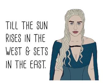 GOT Daenerys Card