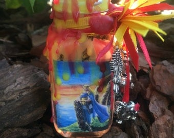 Lugh Deity Altar Bottle