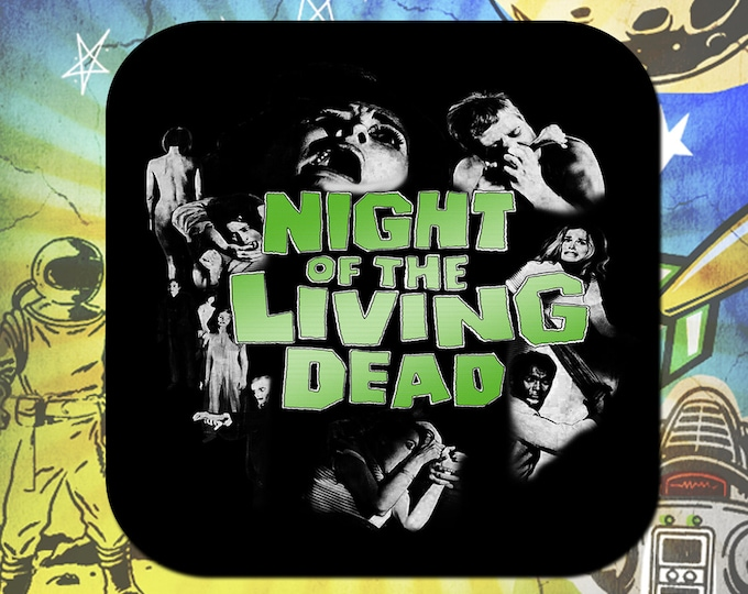 Night of the Living Dead Coaster Set