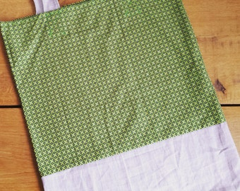 Nice bright green shopper (totebag) to your messages get involved!
