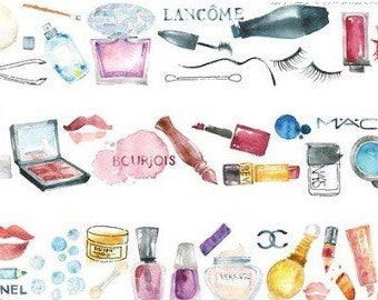 Make Up Cosmetics Watercolour Effect Washi Tape 20mm x 10m