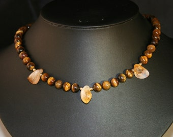 Tiger Eye Necklace # 679M
