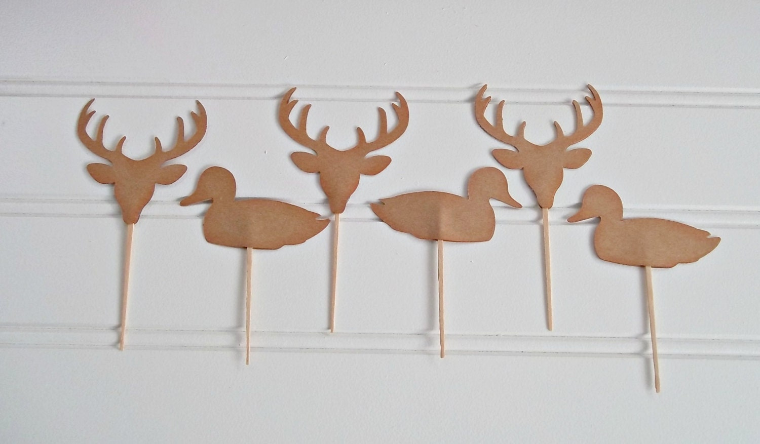 Hunting cake toppers Camo cake toppers bucks ducks and fish
