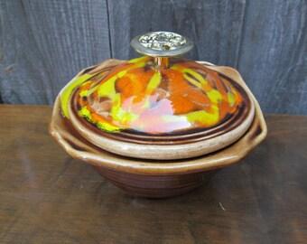 California Original Pottery Relish Dish, Chip&Dip Replacement Dish