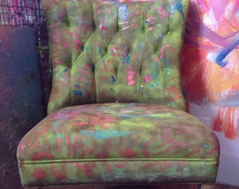 Vintage abstract chair