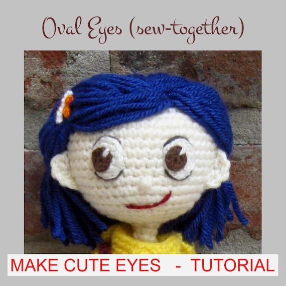 EYES for Amigurumi Dolls - Amigurumi Pattern Crochet Doll ...