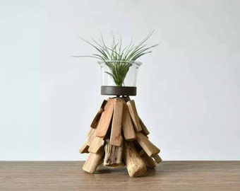 Handmade Air Plant Holder / Planter / Candle Holder