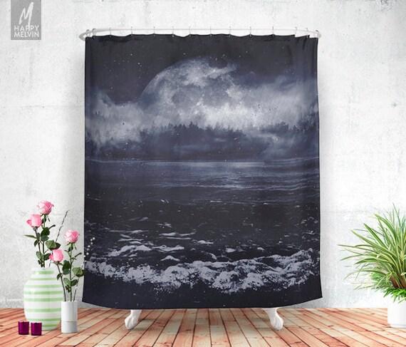 Mixed emotions shower curtain bathroom decor home decor