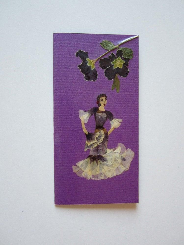Handmade Unique Greeting Card Find Your Rhythm