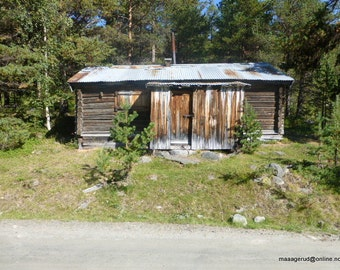 Old Norwegian cottage