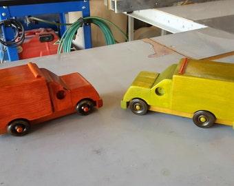 Fire Department Ambulance Handmade Wooden Toy