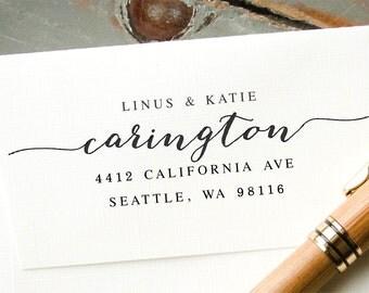 Self-Inking Stamp, Custom Address Stamp, Custom Rubber Stamp, Personalized Stamp, Address Stamp, Return Address Stamp: Housewarming, Wedding