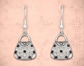 Purse Earrings - 50547