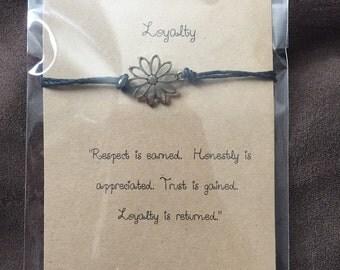 Loyaly Wish Bracelet