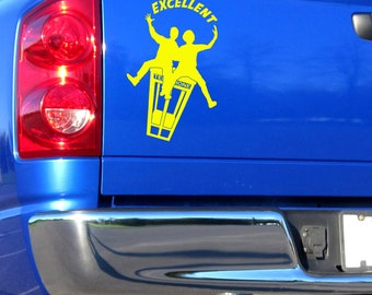 Bill and Teds Excellent Adventure decal