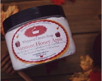Vermont Honey Apple Soap
