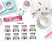 "MCM MANTRAS: ""Courage"" Paper Planner Stickers!"