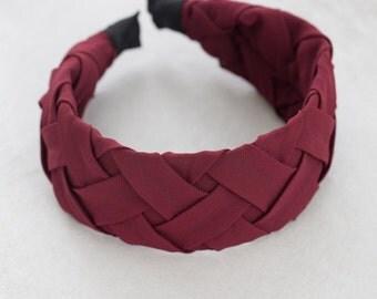 Lattice Hairband | Maroon - 050600006