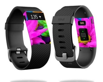 Skin Decal Wrap for Fitbit Blaze, Charge, Charge HR, Surge Watch cover sticker Colorful Flowers
