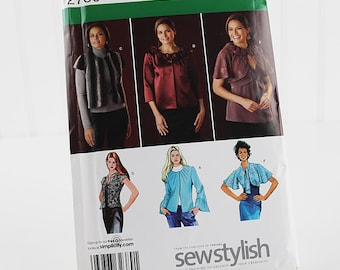Simplicity Jacket Collection Pattern, Uncut Sewing Pattern, Simplicity 2730, Size 8-16