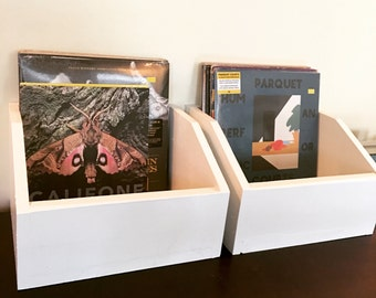 Vinyl Record Storage Boxes