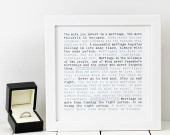 Personalised Engagement Print; Personalised Engagement Gift; You're Engaged Print; Getting Married Print; Engaged Couple Gift; PAP260