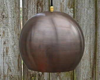 Cool Danish style ball antiqued copper ceiling light hanging  lamp shade RBSB