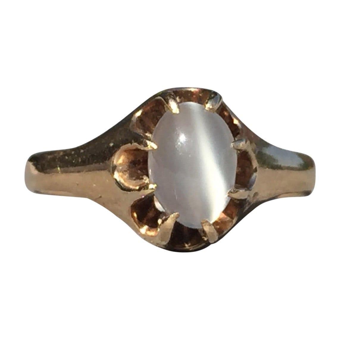 sale moonstone ring moonstone antique vintage engagement