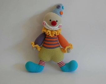 Clown toy- doll - ready to ship