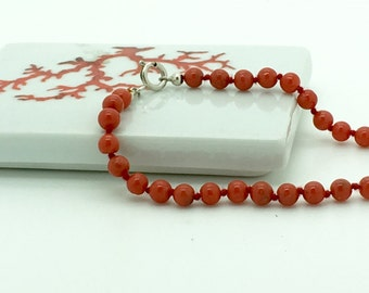 Corsican red coral bracelet 1st choice