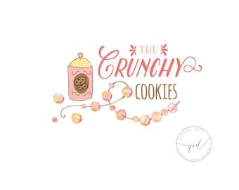 Logo  Cookies Bakery logo design professional business logo  food logo  business card sign  small business branding