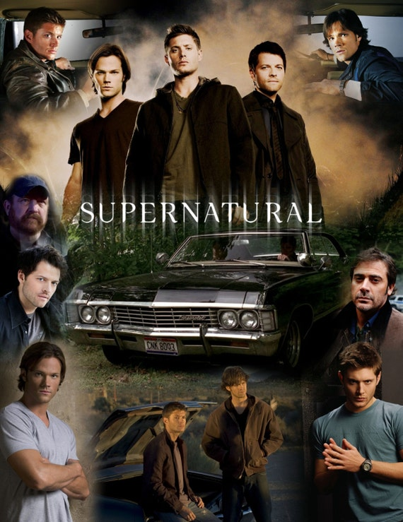 Supernatural Inspired Men of SupernaturalThrow Blanket
