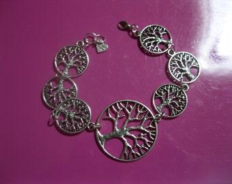 Celtic life tree witch bracelet