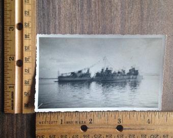 Vintage Ship Photo