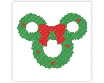 Disney, Icon Mickey Mouse, Icon Minnie Mouse, Christmas, Digital, Download, TShirt, Cut File, SVG, Iron on, Transfer