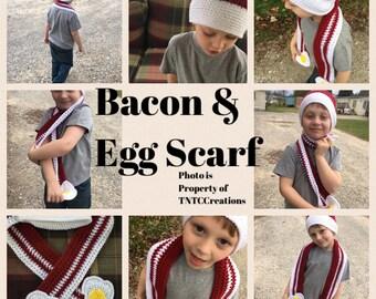 Bacon&Egg Scarf Child/Toddler
