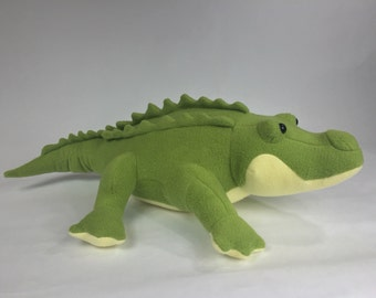 Alligator, Stuffed Animal Alligator, Alligator Plushie, Plush Alligator, Alligator Stuffed Toy, Alligator Plush Toy,Crocodile Stuffed Animal