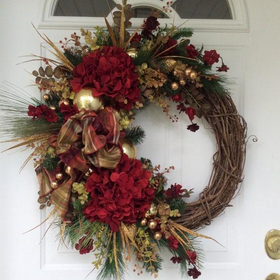 Xmas Wreath: Christmas Wreath-Winter Wreath-Holiday Wreath-Holiday