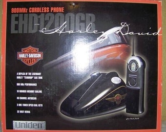 Harley Davidson Gas Tank Cordless Phone New In Box Biker Motorcycle
