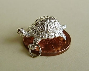 Sterling Silver Tortoise Charm