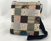 Patchwork Lace Crossbody Bag