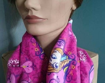 Frozen Infinity Scarf - Anna and Elsa Infinity Circle Mobius Scarf