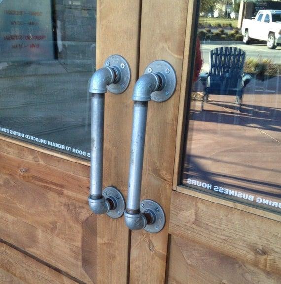 Commercial Door Fixtures : Commercial fixture door pulls store industrial